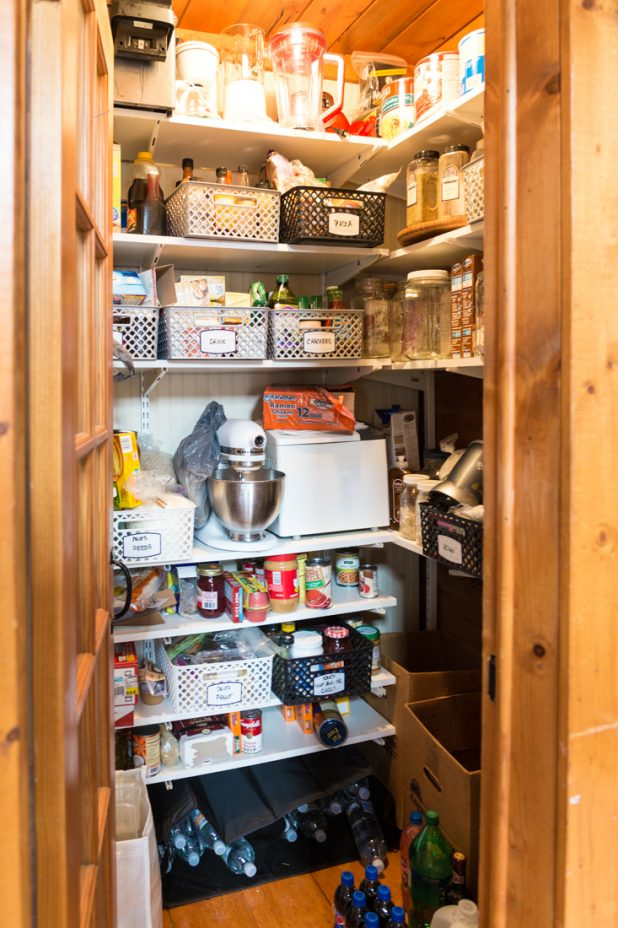 Pantry Before. How I Organized My Pantry For $50
