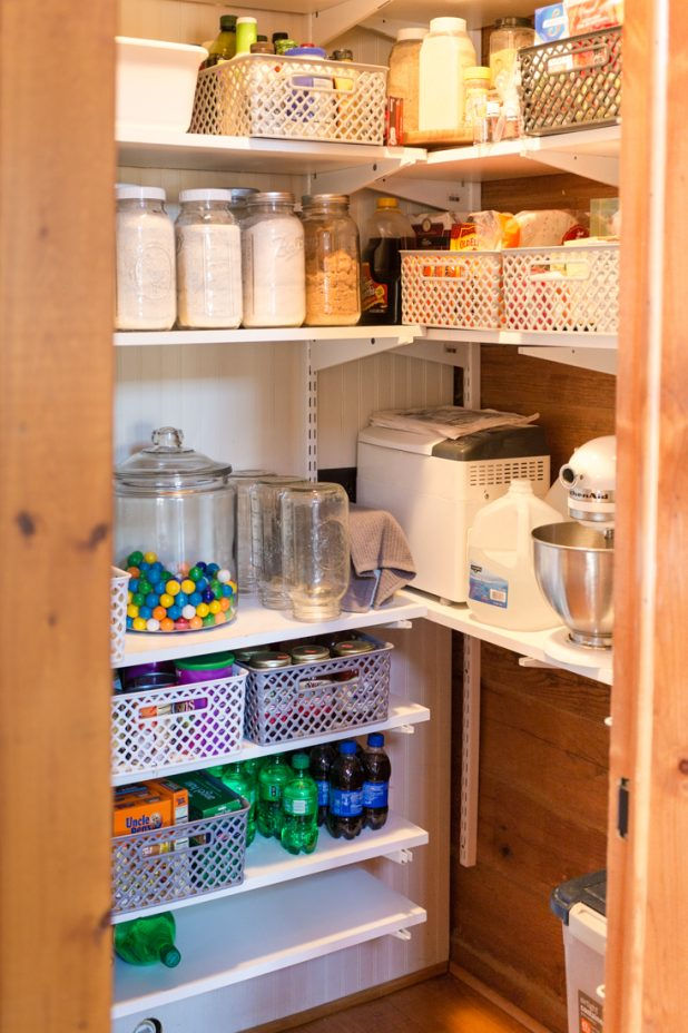 How I Organized My Pantry For $50 With Things From Walmart