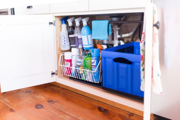 Tips and Tricks for Organizing Under a Kitchen Sink on a Budget