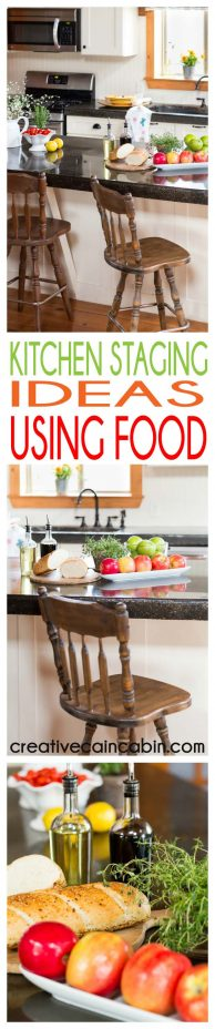 How to Stage a Kitchen for a Photo Shoot Using Food