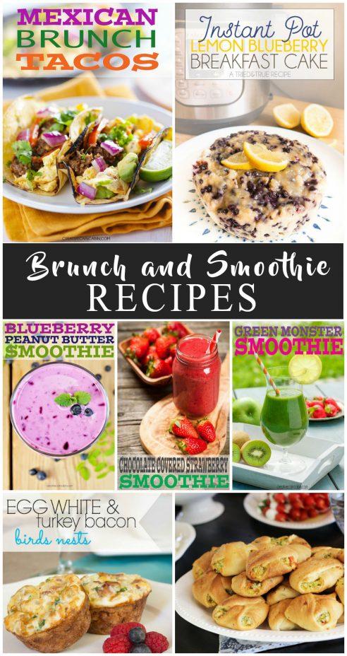 Easy and Delicious Brunch and Smoothie Recipes