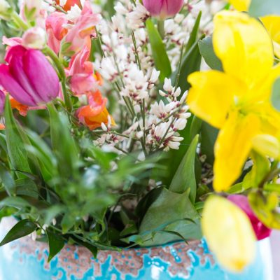 Easy Spring & Easter Centerpiece That Anyone Can Create