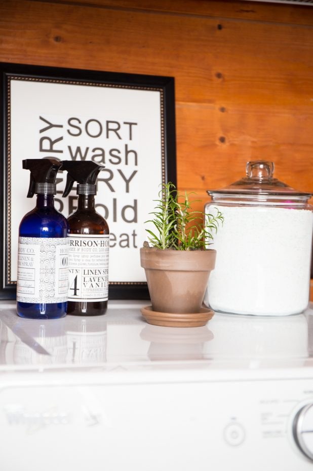 Small Space Laundry Room Decorating, Keeping it Simple and Combining it With a Guest Room Bathroom