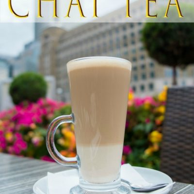 Bullet Proof Chai Tea