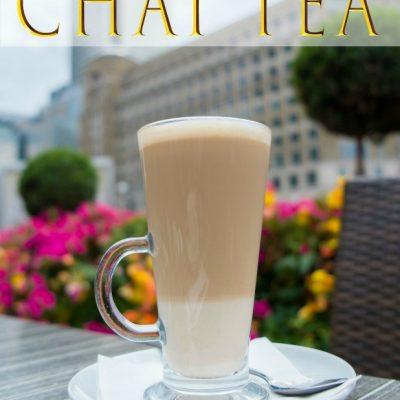 Bullet Proof Chai Tea
