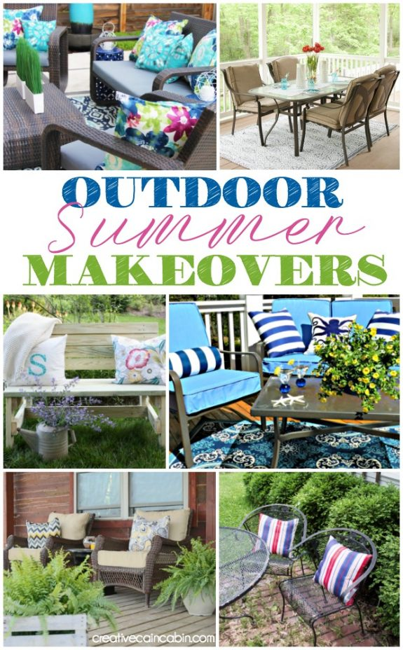 Outdoor Summer Makeovers, Design an Outdoor Space on a Budget, Tips and Trick For Decks and Patios, Stunning Transformations.