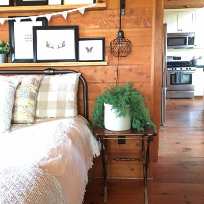Guest Room Decorated For $52