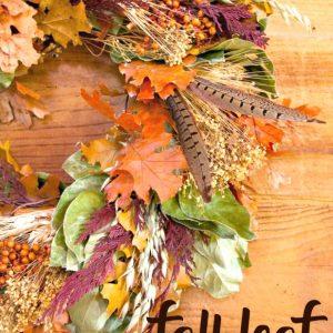 Easy DIY Fall Leaf Decor Projects