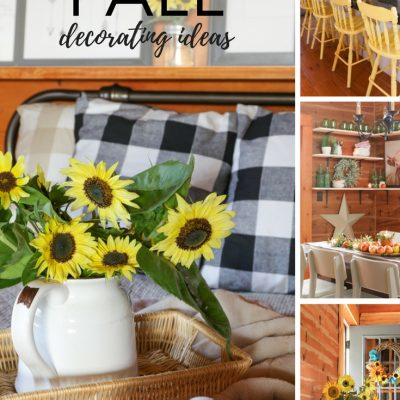 Welcoming In Fall Decorating Ideas