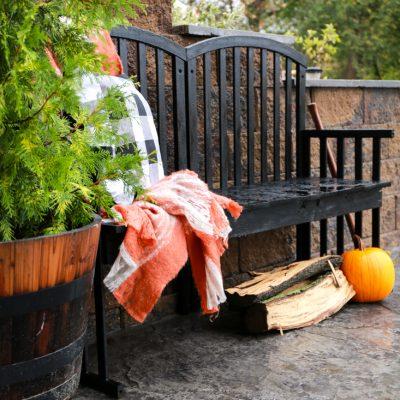 Old Crib Turned Farmhouse Bench
