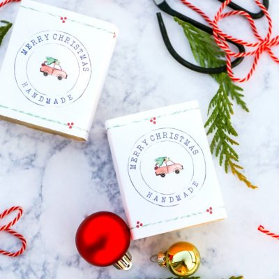 Printable Christmas Soap Wrappers
