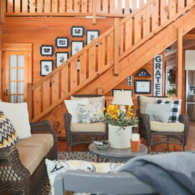 Decorating a Living Room With Lawn Furniture