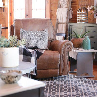 Living Room Furniture Reveal
