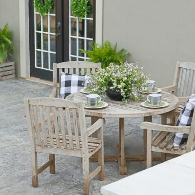 African Teak Patio Furniture