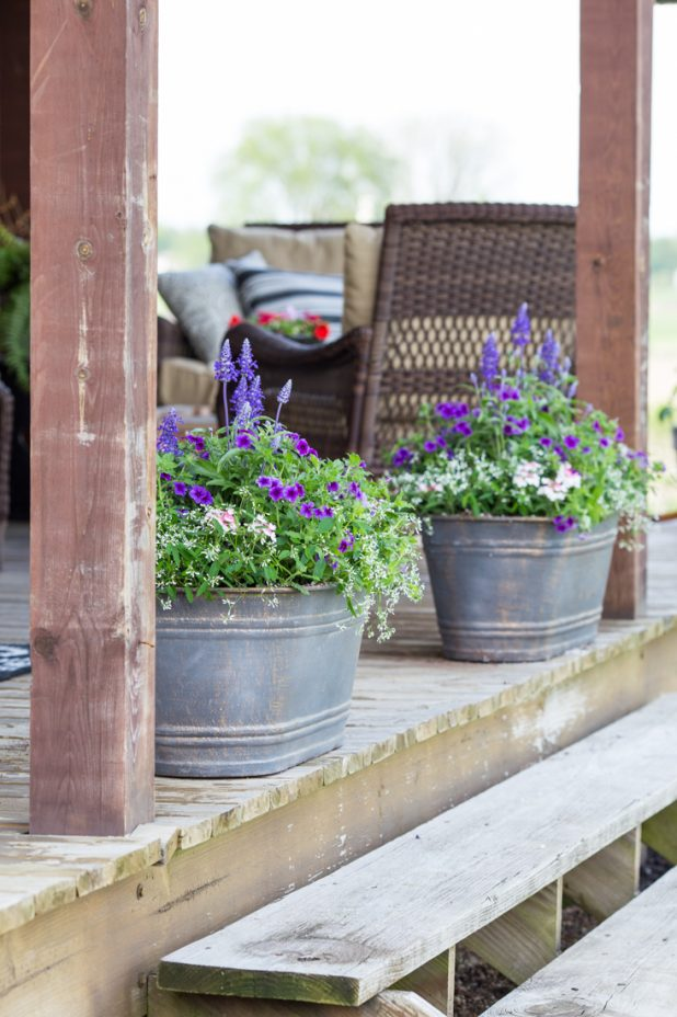 Porch Flower Containers That Bring Curb Appeal To Any Home