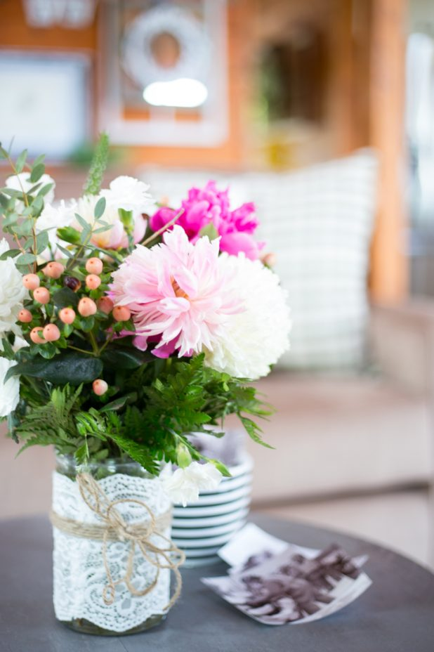 Summer Cut Flower Bouquet Using Peonies, Sunflowers, Carnations and Greenery