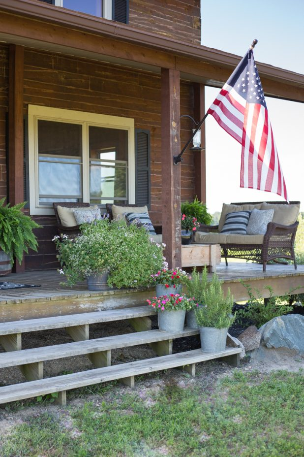 If you don't like the color of your store bought flag pole you can change it simple enough by updating it to match your homes exterior by using spray paint.