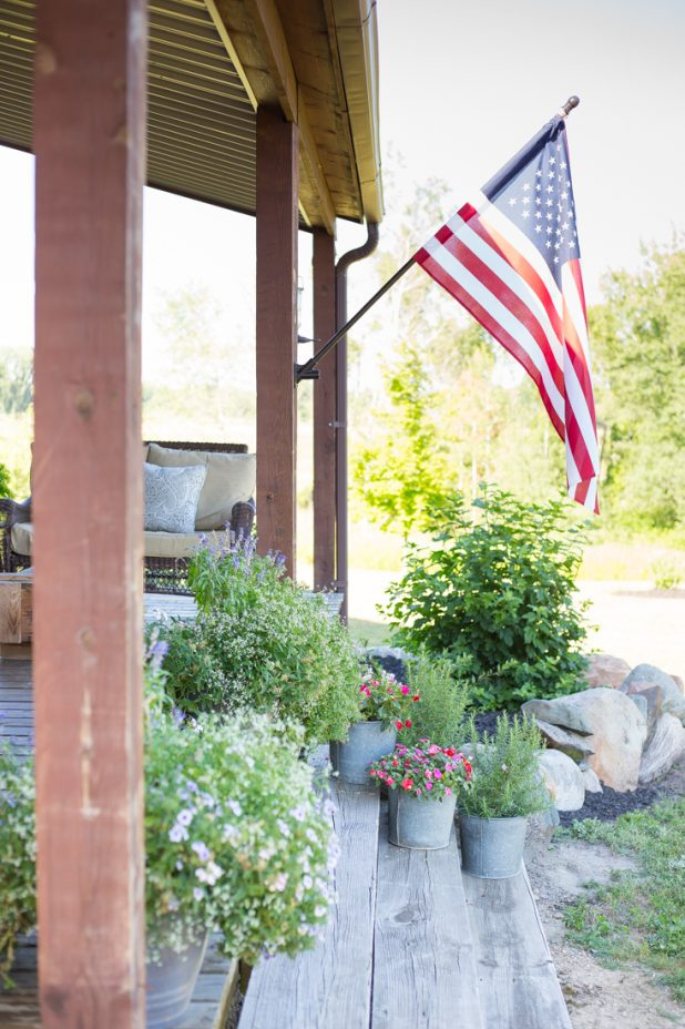 How to Update a Flag Pole To Make It Match Your Homes Exterior