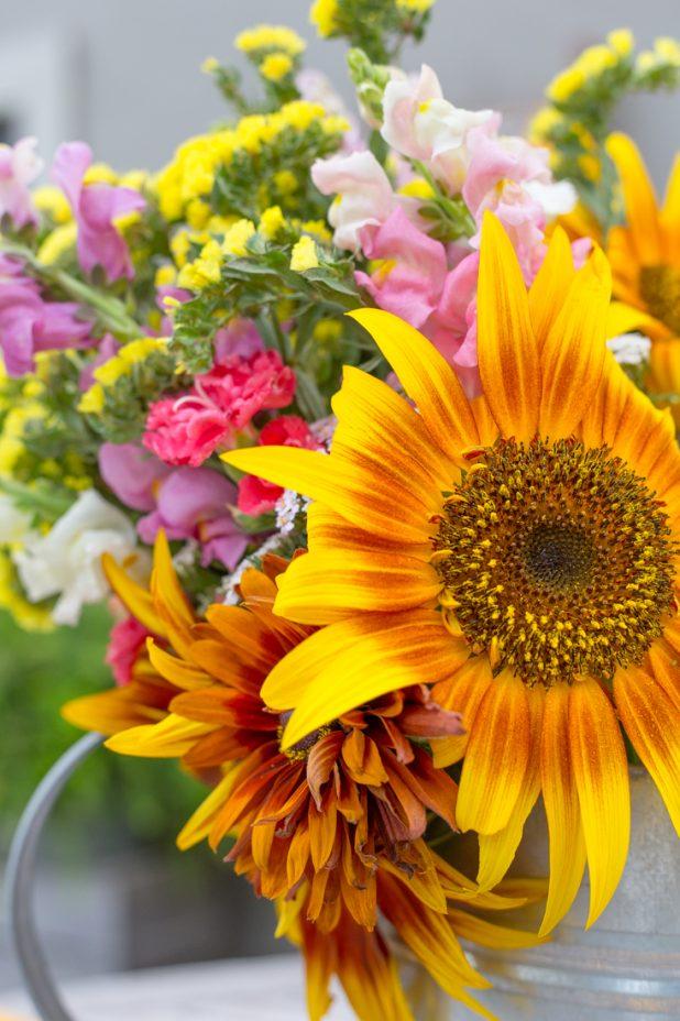 Summer Sunflower Bouquet