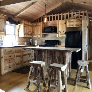 Tiny House Log Cabin Tour