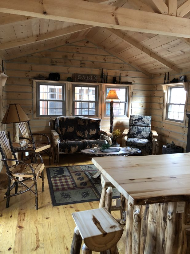 Tiny Log House Tour, Rustic, Charming, Retreat.