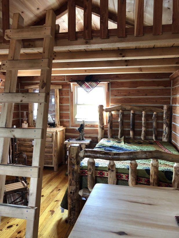 Log Cabin Tiny House Home Tour
