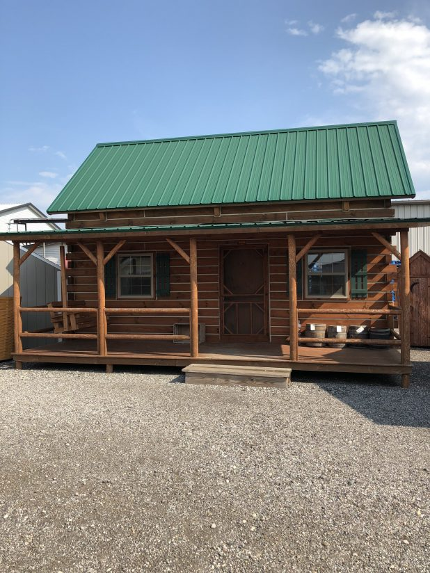 Tiny House Home Tour Log Cabin Style