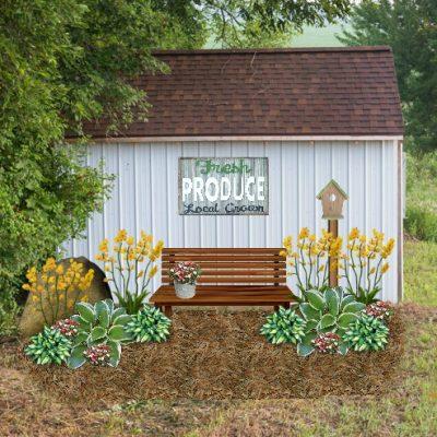Garden Shed Exterior Decor