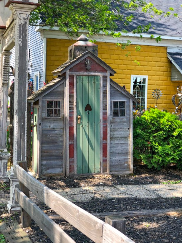 Rustic Garden Shed Idea