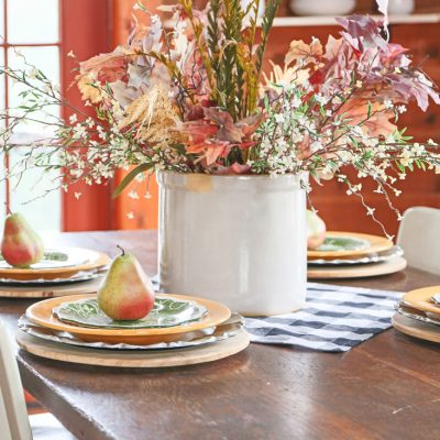 Easy Fall Natural Centerpiece