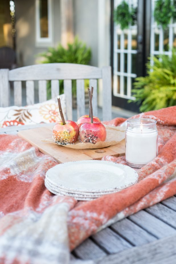 Fall, Caramel Apples, Rustic Farmhouse Charm