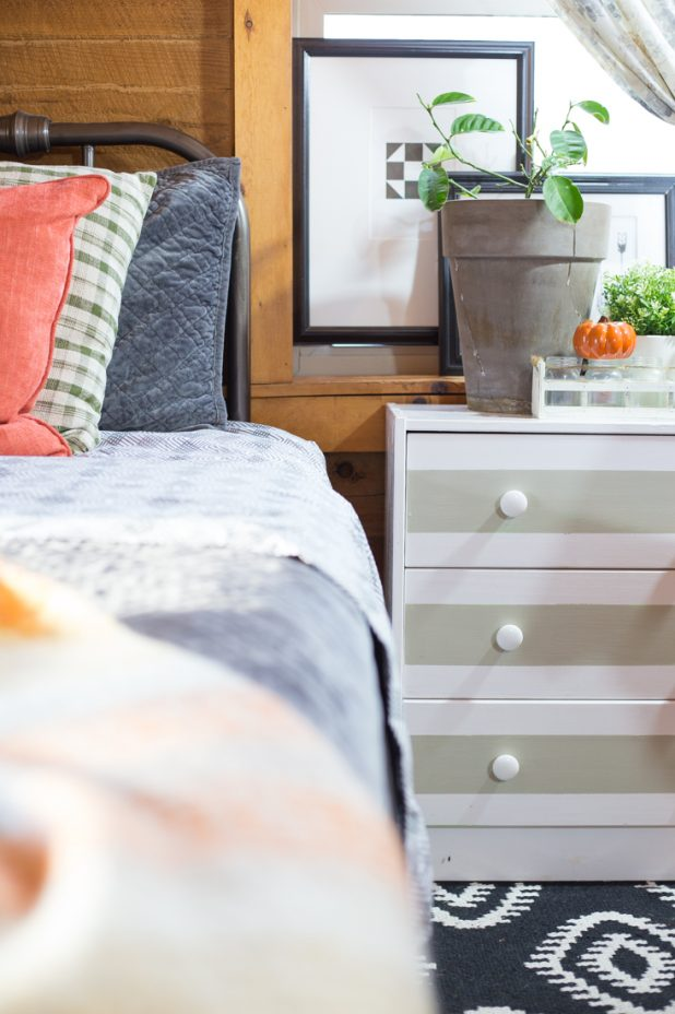Decorating For Fall In The Guest Bedroom