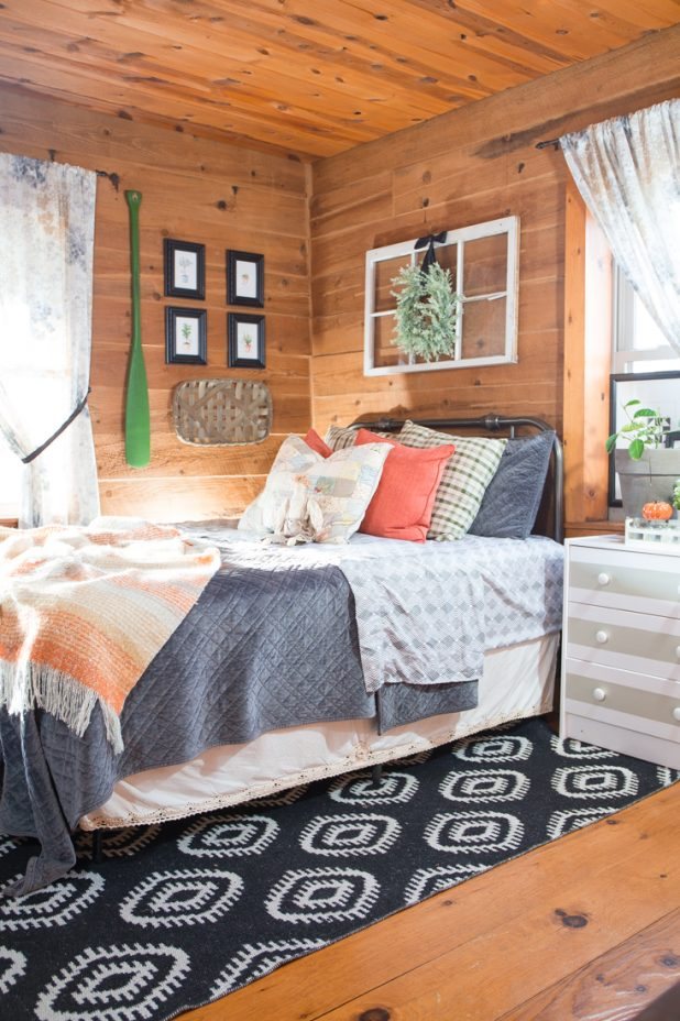 Cozy Fall Guest Bedroom