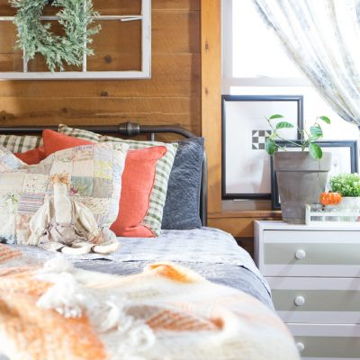 Adding Warm Touches To A Fall Guest Room