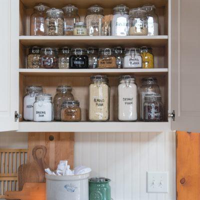 Baking Cupboard Storage & Organization
