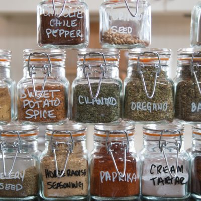 Herb & Spice Storage and Organization
