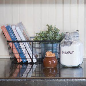 5 Ways to Organize Cookbooks Farmhouse Style