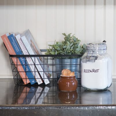 5 Ways to Organize Cookbooks Farmhouse Style