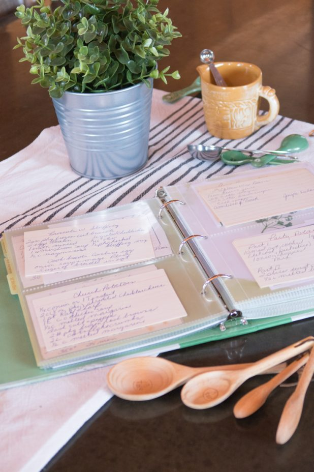 Hand Written Recipe Cards From Loved Ones