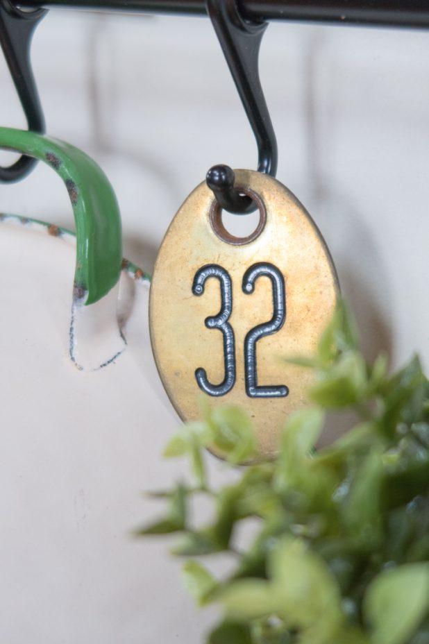 Brass Number 32