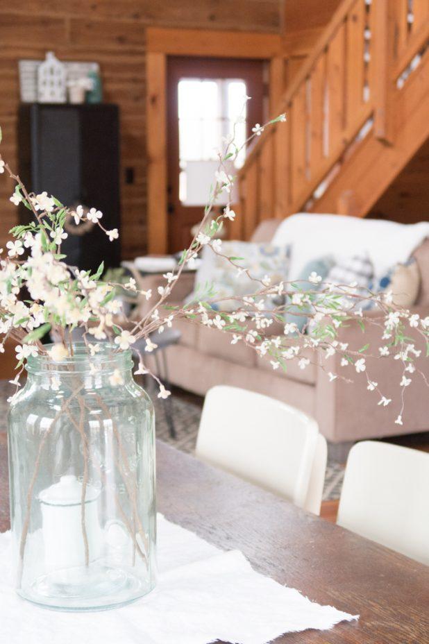 Log Home, Log Cabin, Farmhouse Style Decorating, Living Room