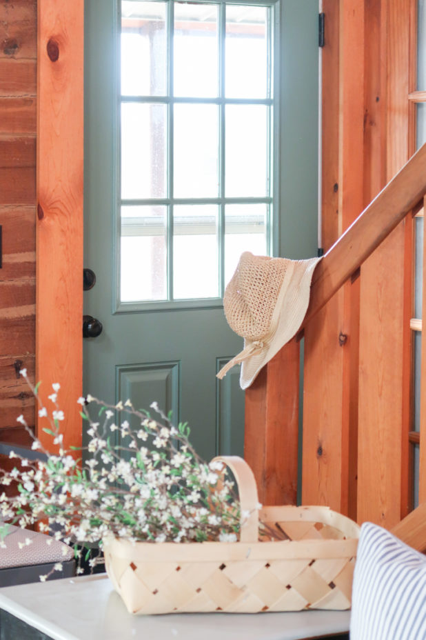 Green Door, Privilege Green Paint Color, Farmhouse Style Decor