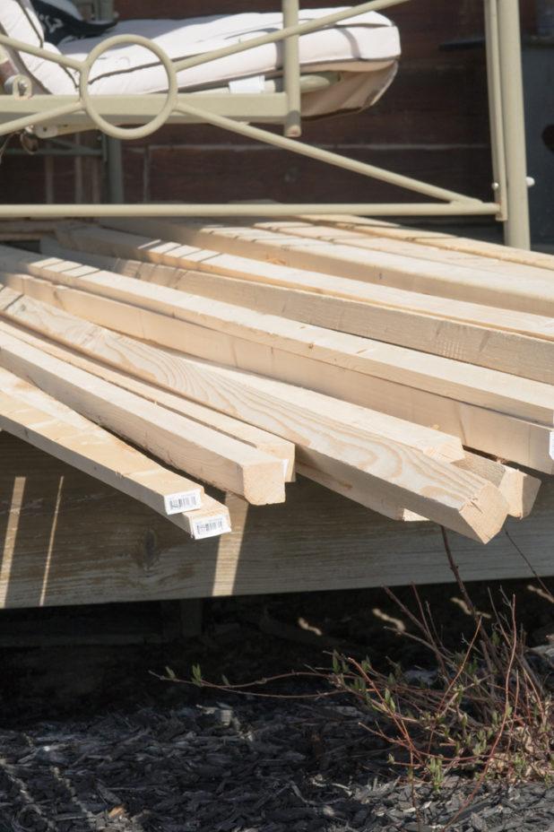 Lumber For Garden Trellis