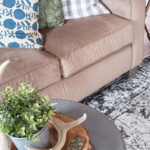 Furniture Rearrange & New Area Rug