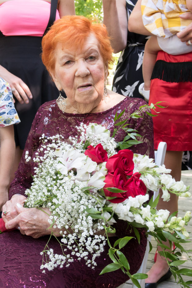 Grama Red 100th Birthday