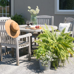 Outdoor Summer Dining Space