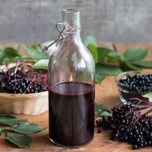 How to Make Elderberry Syrup in the Instant Pot