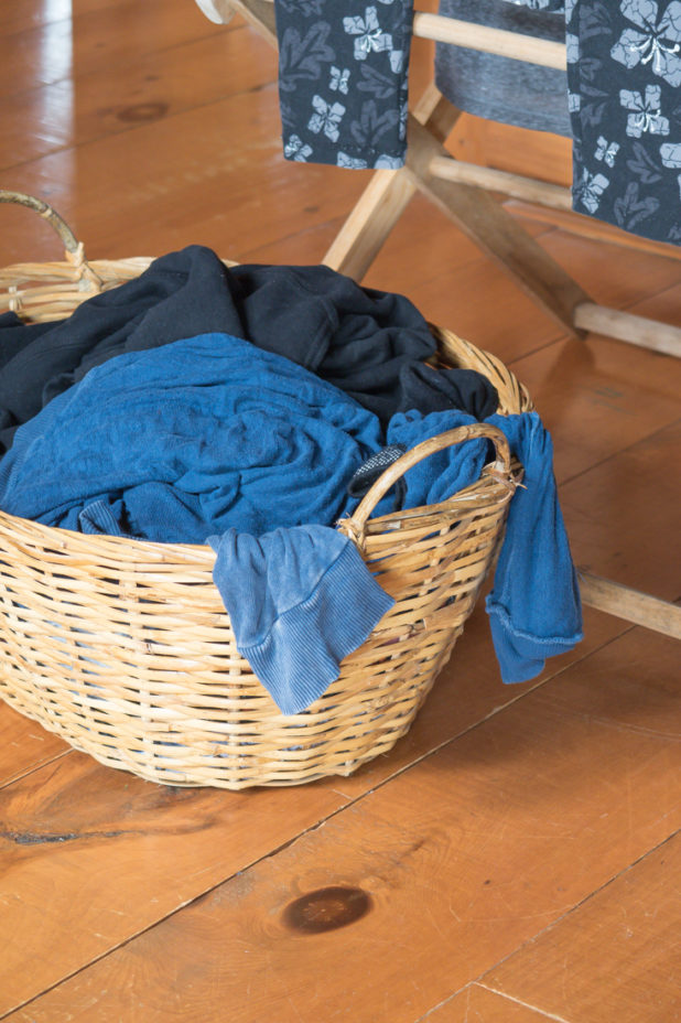 Line Drying Clothes Inside With a Foldable Clothes Drying Rack