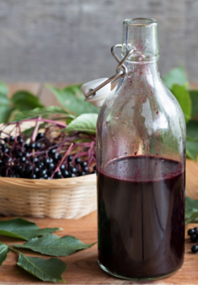 Elderberry Syrup Recipe In the Instant Pot