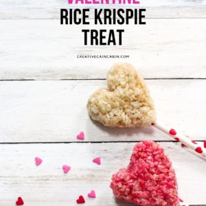 Microwave Valentine Rice Krispie Treat Recipe
